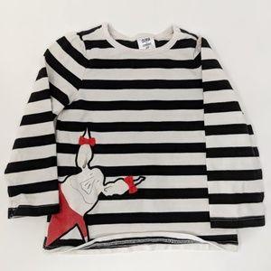 Olivia Pig Striped Shirt